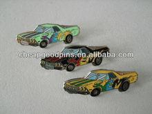 Beauty cars Imitation Cloisonne metal lapel pins
