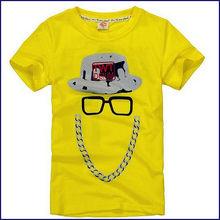 short sleeve cotton kids t-shirt wholesale fashion childrens clothing