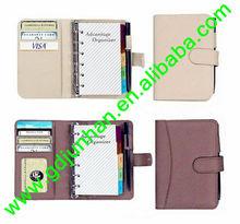 a5 fancy leather agenda/organizer