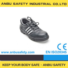 scratch resistant leather in construction site EN20345 safety shoes