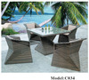 2013 New Design Environmental Garden Rattan Chairs and table set