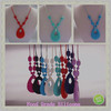Teen Silicone Chew Necklace/Food-safe Kean Silicone Teething Necklace Promotion
