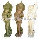 Bali angel sculpture/sandstone statue for decorative home& garden decoration