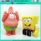 Spongebob plastic vinyl toy;custom pvc vinyl toy;OEM vinyl toy project