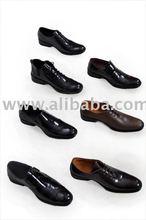Host genuine cow leather men's shoe