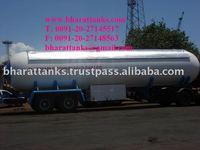 LPG gaz transport trailers