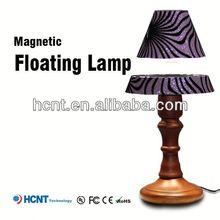 Best sell magnetic floating led lmap, metal art table lamp