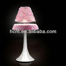 Best sell magnetic floating led lmap, alarm/clock reading desk lamp