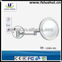 decorative wall mounted murano shaving mirror