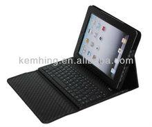 Wireless Bluetooth keyboard Case for iPad mini, for ipad mini leather case with keyboard