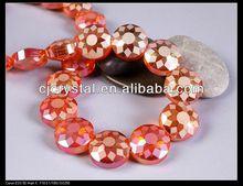 Machine cut & polished crystal beads
