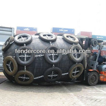 South America market inflatable boat fender for ship and yacht D2.0m*L3.5m
