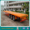 flatbed container transport semi trailer/dolly semi trailer