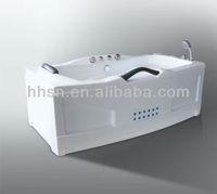 HH5Y602 Home used square acrylic massage Bathtub