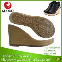 women high heel and wedge fashin sole factory