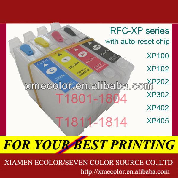 Refill Cartridge For Epson XP101,XP201,XP204,XP401,XP800