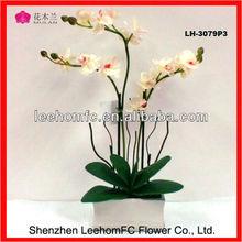 Hot Sale Eco Natural Touch Orchids Plants Hydrangea Bush Artificial Flower