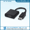 Male to Female DP to HDMI Converter Cable