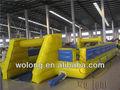 esportes diversão equipamentos de campo de futebol inflável