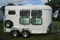 2 cavalo de carga float trailer deluxe com cozinha, caravan porta