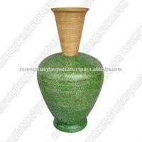 Bamboo Vase Art handicraft