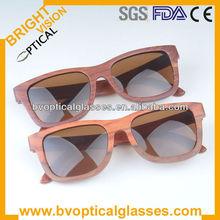 Nature polarized wooden wayfarers sunglasses