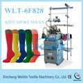 6f completo computador de máquinas para a fabricação de meias