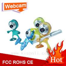 Toy man USB webcam ,One USB with Microphone web camera