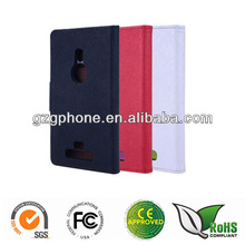 flip leather case cover for Nokia Lumia 925 cover