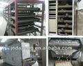 Vegetales y frutas de túnel de secado de la máquina/secador/horno
