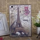 for apple ipad mini pu folio leather case