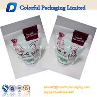 PET/VMPET/PE stand up pet food packing bag with aminal design