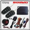 car alarm system remote starter BIGHAWKS CA703-8118 vw auto security flick key A6L flip case