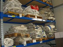 Stocklot PVC Tarpaulin Coated Fabrics Used Tarpauline