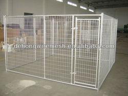 Heavy duty steel dog kennels/dog cage/dog house
