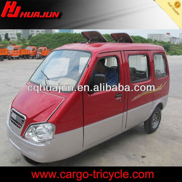 HUJU 200cc enclosed motorcycle for passenger