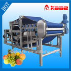 Industrial apple and pear belt juice press
