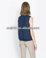 2013 Fashion Elegant Rayon Ladies Top Latest Design