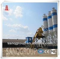 Mobile Ready Mix Concrete Plant Mobile Concrete Batch Plant 75m3/h YHZS75 from Best Manufacturer