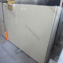 white quartz ledge stone based engineered stone
