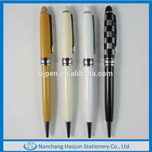 2014 Cheap Custom Logo Branded Metal Ball Pen Best Selling Pens