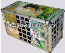 2013 hot selling aluminium pet case/pet carry case with strong handle and safe lock