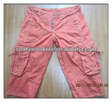 Ladie's Capri; ladie's pants; girls pants