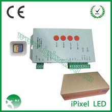SD card 2048 pixels RGB LED controller