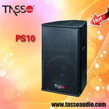 China pro audio 10 inch full range speaker high power handy loudspeaker