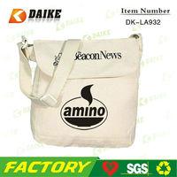Supplier Cotton design your own shoulder bag DK-LA932