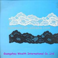 2014 Fashion flower pattern machine embroidery lace
