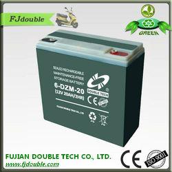 Maintenance Free 6 dzm 20 lead acid battery 12V 20AH E-bike Battery