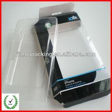 2014 new wholesale hard plastic mobile phone box