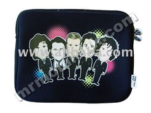 "Tiny Idols Netbook/Laptop/Tablet Case ""I love the boys"""